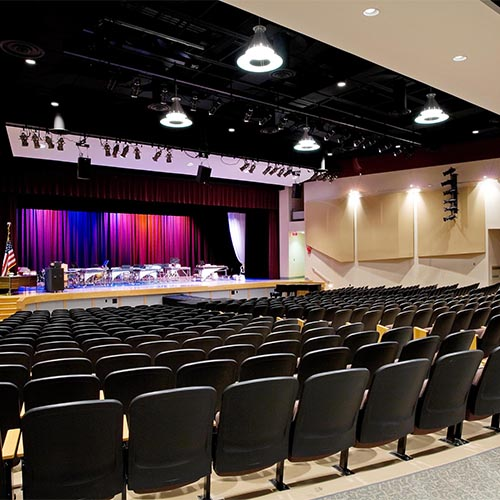 Harrison High School Bernstein Auditorium Renovation