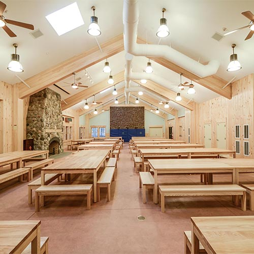 Schiff Scout Reservation New Dining + Multi-purpose Center