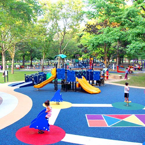 Let All The Children Play Universally Accessible Playground at Eisenhower Park