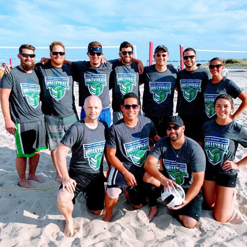 The 2018 Beach Volleyball Season Starts