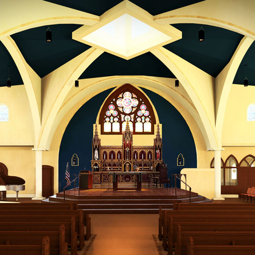 St. John the Evangelist Roman Catholic Church Restoration