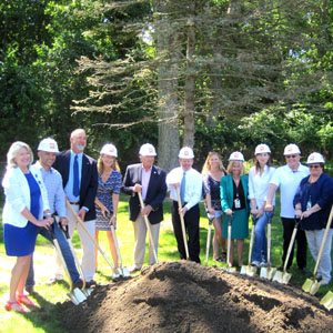 Groundbreaking for Springs School Additions & Alterations