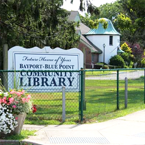 Bayport-Blue Point Library Phase 1 Approved
