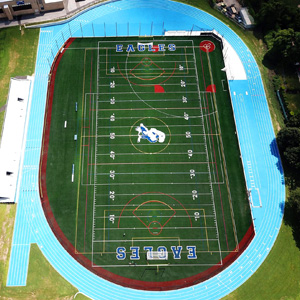 New Athletic Field and Running Track at Valley Stream JHS