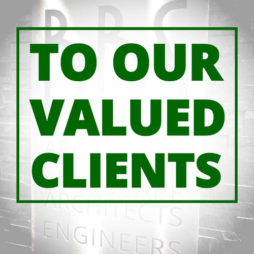 To Our Valued Clients: School Projects & Summer Construction