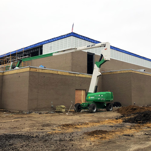 Amityville School District reports High School reconstruction nearly 80% completed