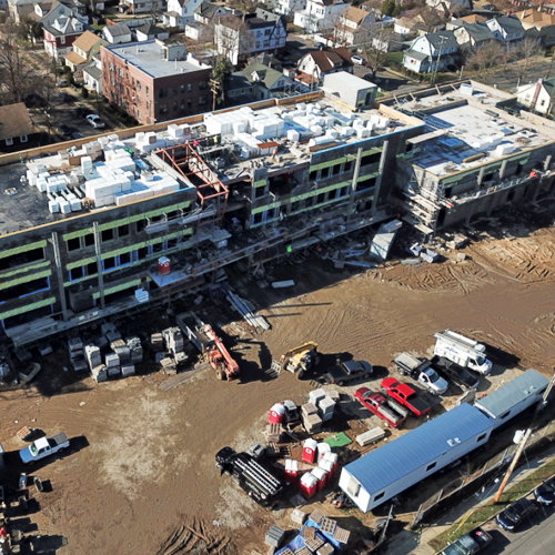 Progress Update: Construction Continues at the New Rhodes School
