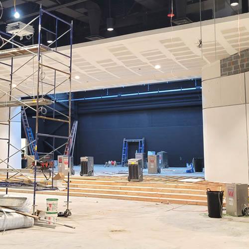 Progress Update: New Auditorium at E.M. Baker Elementary