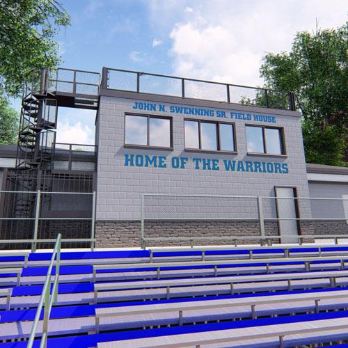 Comsewogue High School Stadium Field House